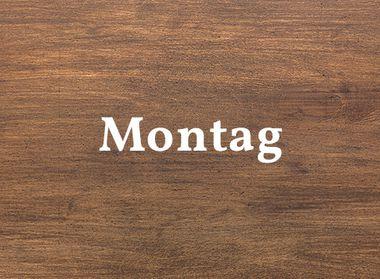 Schwarzwald Küche Holzoptik für Montag