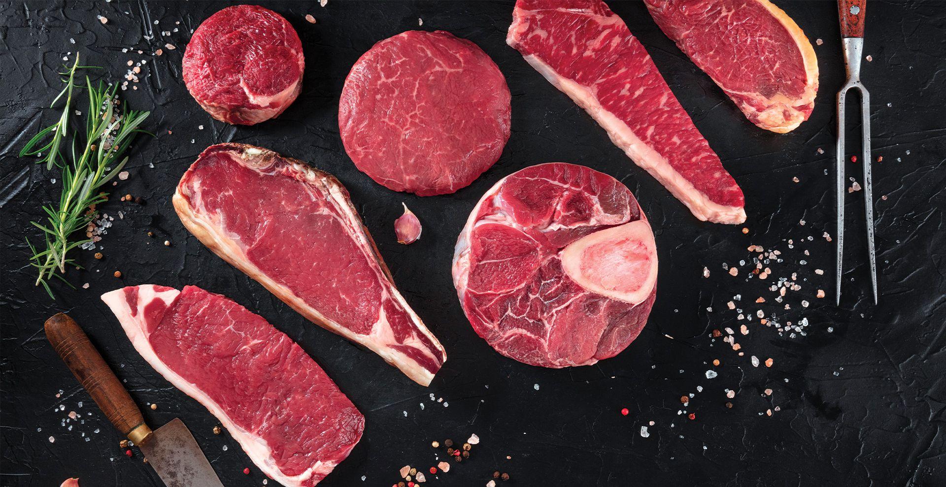 Steakauswahl aus der Kramer Schwarzwald Küche