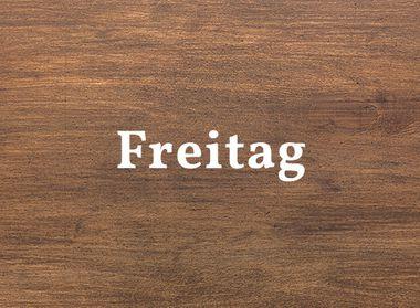 Schwarzwald Küche Holzoptik für Freitag