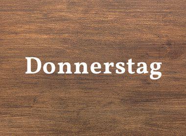 Schwarzwald Küche Holzoptik für Donnerstag