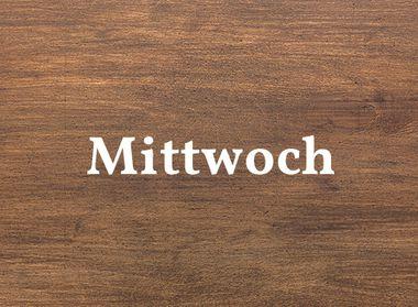 Schwarzwald Küche Holzoptik für Mittwoch